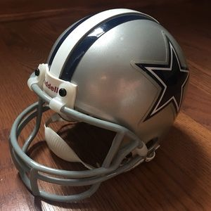 Collectors NFL helmet of the Dallas Cowboys
